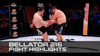 Bellator 216 Main Card Fight Highlights