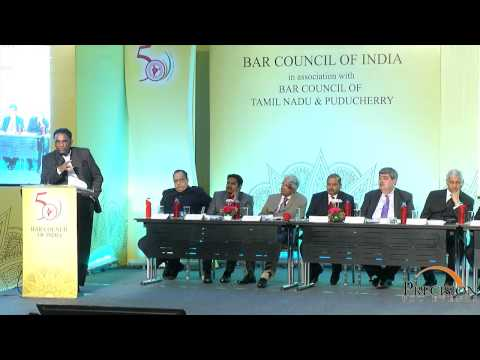 Speech by Hon'ble Mr. Justice J. Chelameswar at BCI - Precision Pro Events