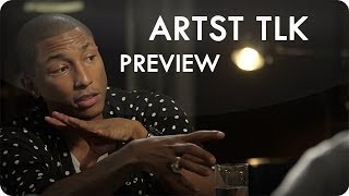 Karim Rashid, Kenny Scharf & Pharrell Williams | ARTST TLK Ep. 10 Preview | Reserve Channel