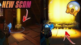 *NEW SCAM* The Frozen Game Scam! (Scammer Gets Scammed) Fortnite Save The World