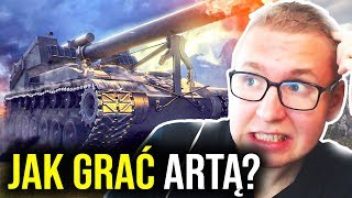 JAK GRAĆ ARTĄ? - Fail Compilation - World of Tanks