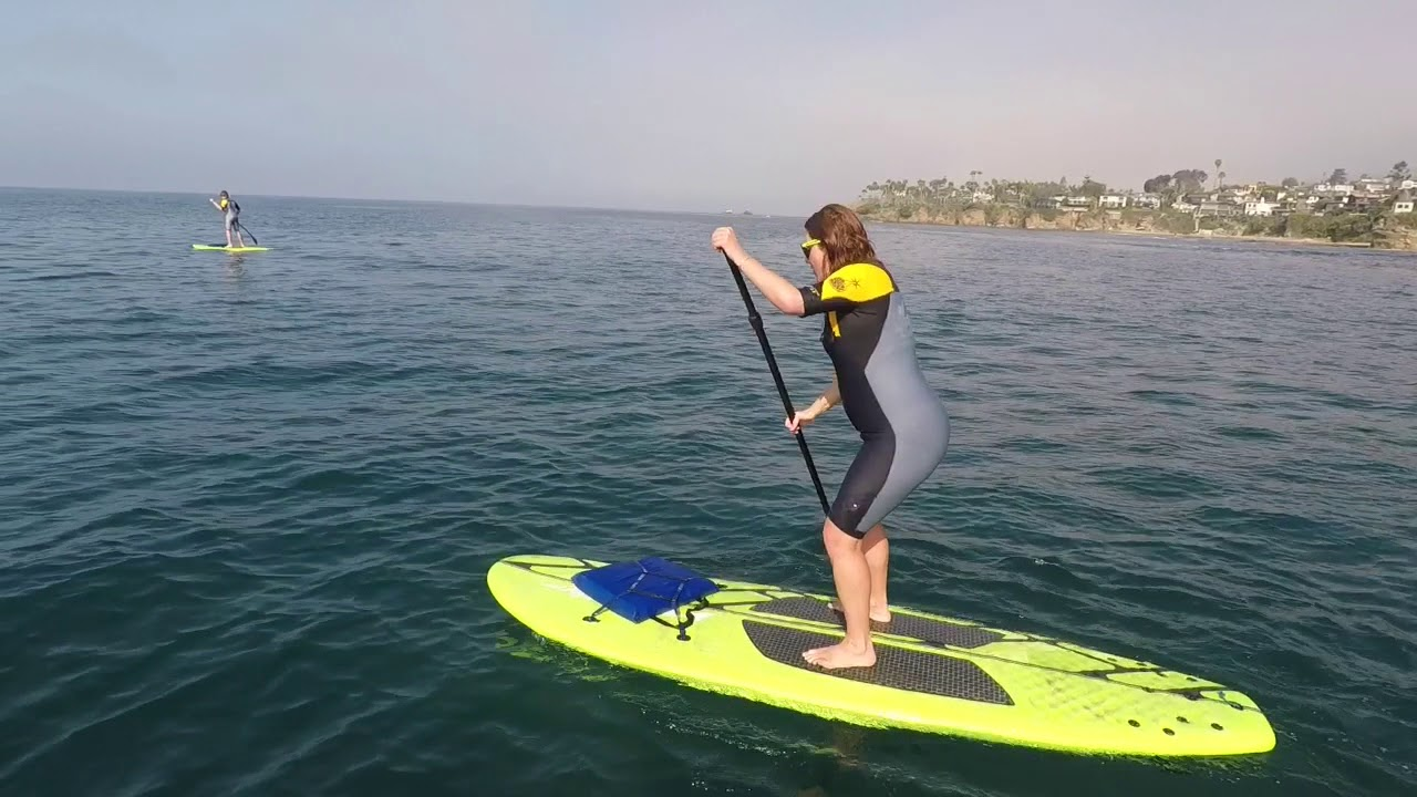 Stand Up Paddle Boarding In Laguna Beach 3 30 18