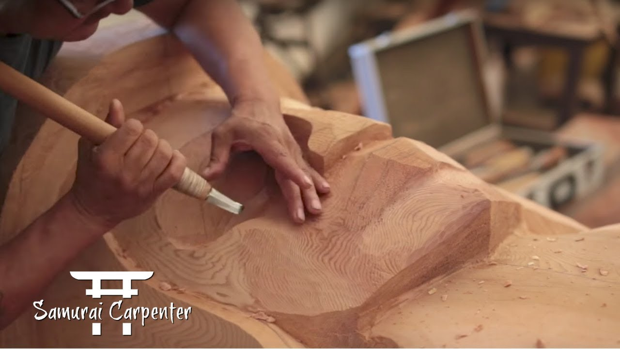 Woodworking Totem Pole Carving Pt 3 With Tom Lafortune
