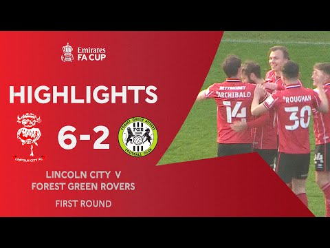 Lincoln Forest Green Goals And Highlights