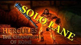 Hercules, Hercules, Hercules! (Solo Lane - SMITE)