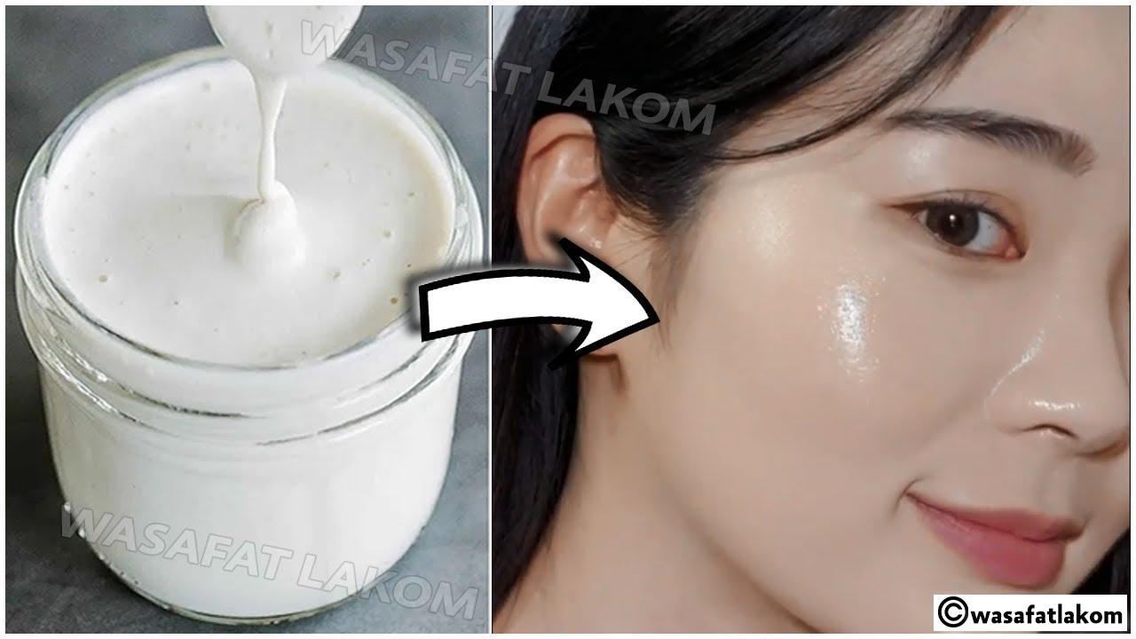 Japanese secret to whitening skin 10 degrees👌Eliminate freckles and pigmentation🌼snow white skin