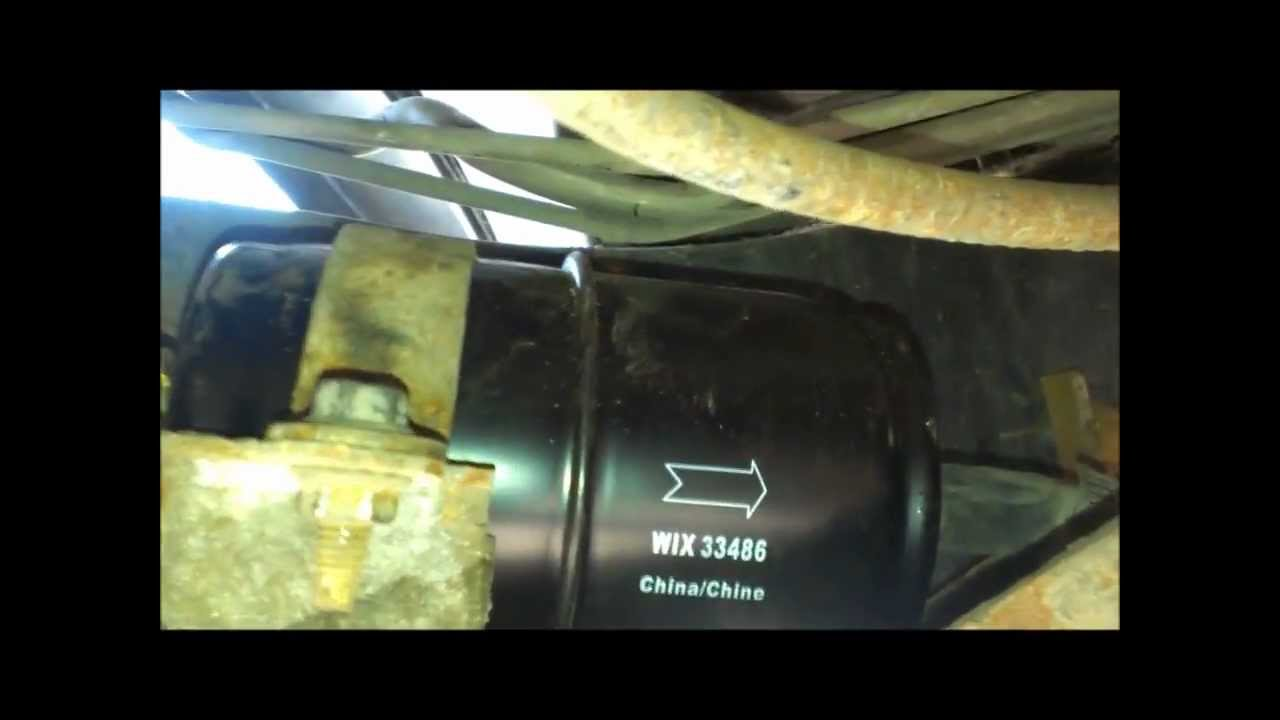 Changing the Fuel Filter on a Jeep Wrangler (91 YJ) - YouTube | 99 Jeep Wrangler Fuel Filter Location |  | YouTube