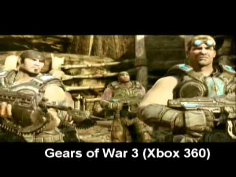 Gears of War 3 (Xbox 360) Analisis.