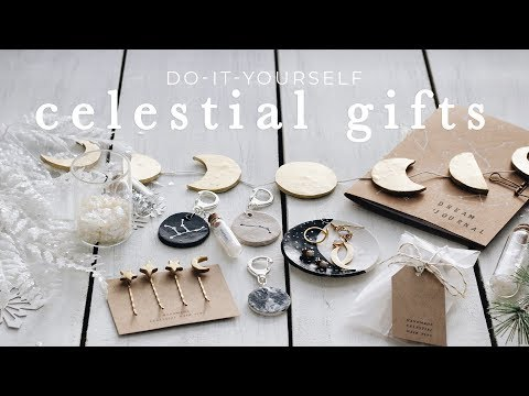 DIY celestial gifts
