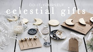 DIY celestial gifts