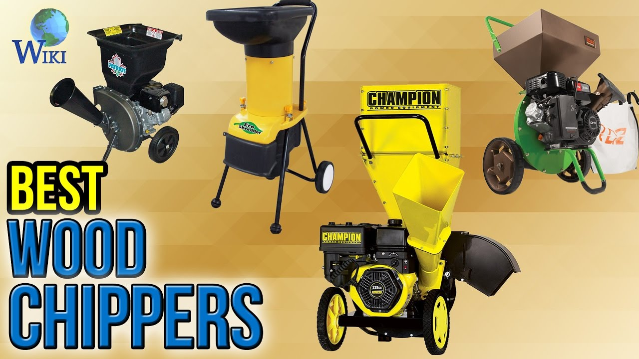 8 Best Wood Chippers 2017