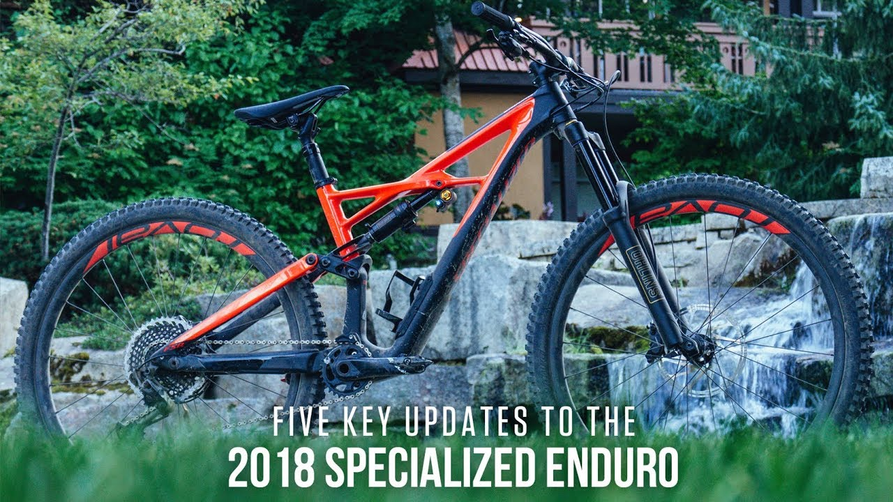 Five Key Updates to the 2018 Specialized Enduro