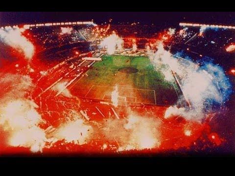 El mejor recibimiento de River en la historia - Libertadores 1996