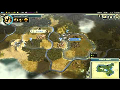 Let's play Civilization V: Flawless Strategy – unlocking the Deity difficulty achievement