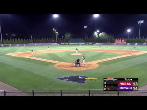 Montevallo Baseball vs. West Alabama