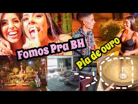 VLOG: FUI COM MINHAS IRMÃS PRA BH DE CARRO + FESTA DE ANIVERSÁRIO DA JULLY MOLINA + TOUR PELA MANSÃO
