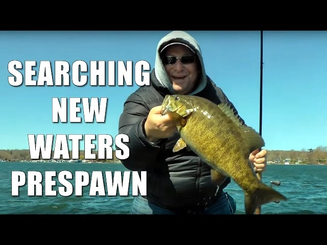 Spring Bass Fishing - Exploring New Waters