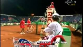 discusion del potro y murray