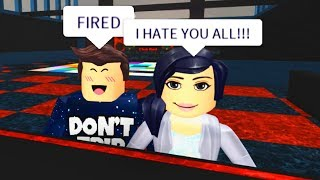 BULLY TEACHER GETS FIRED FROM HIGH SCHOOL IN ROBLOX!