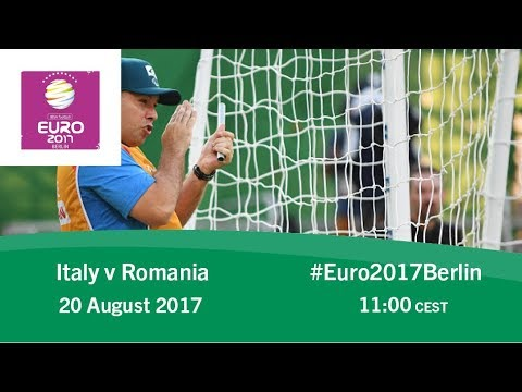 Italy vs Romania | IBSA Blind Football European Championships