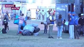 Εφθασαν στη Νέα Καβάλα οι πρόσφυγες-Eidisis.gr webTV