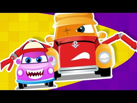 Super Car Royce in we are the monster trucks with baby a children's vehicle song by Kids Channel