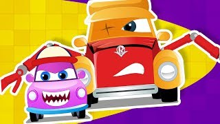 Super Car Royce in we are the monster trucks with baby a children