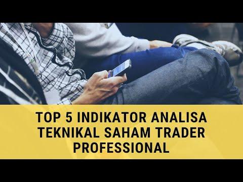 5 Indikator Analisa Teknikal Saham Professional Trader :: Jelas & Lengkap !!