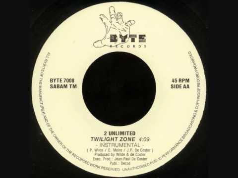 "2 Unlimited - Twilight Zone (7"" Instrumental) (1991)"