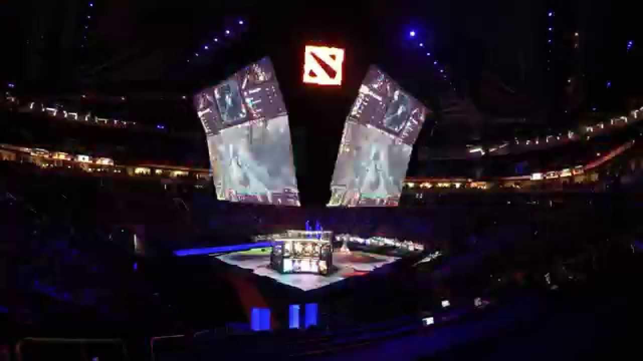 ti5 dota 2 championships timelapse youtube