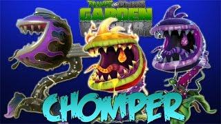 Chomper - Plants Vs. Zombies: Garden Warfare (Fire Chomper, Hot Rod, Power Chomper)
