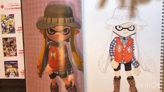 【スプラトゥーン2】描いてみた!インクリングガール!Drawing Splatoon Inkling Girl .copicコピックメイキング