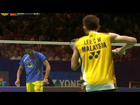Lee C.W. v L. Dan |MS-F| Yonex All England Open Badminton Champ. 2012