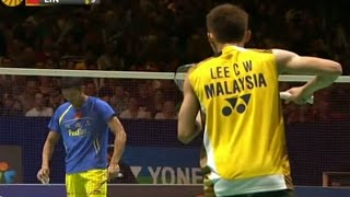 Lee C.W. V L. Dan MS F Yonex All England Open Badminton Champ. 2012