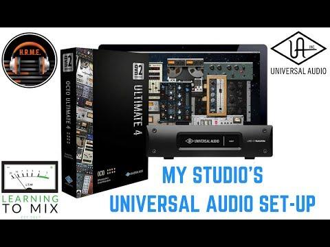 Home Studio - Plugins - My Universal Audio Set-Up