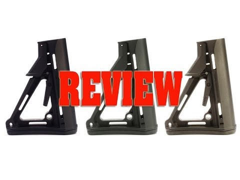 Magpul Buttstocks Review CTR, STR, PRS - Butt Stock