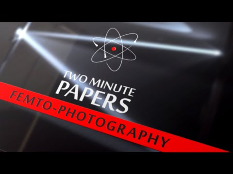 Capturing Waves of Light With Femto-photography | Two Minute Papers #2