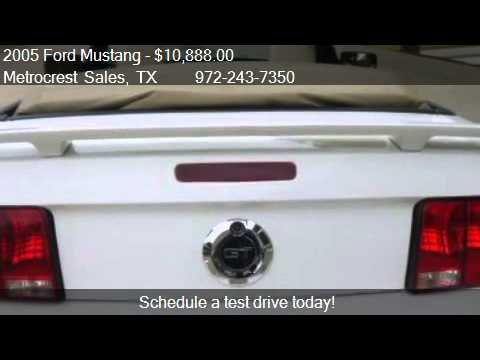 2005 Ford Mustang Convertible GT Premium package - for sale