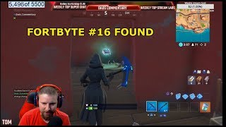 FORTNITE FORTBYTE #16 LOCATION FOUND IN A DESERT HOUSE WITH TOO MANY CHAIRS I had to get sweaty