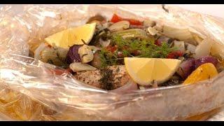 Щука с овощами в рукаве | Рыба. От филе до фарша