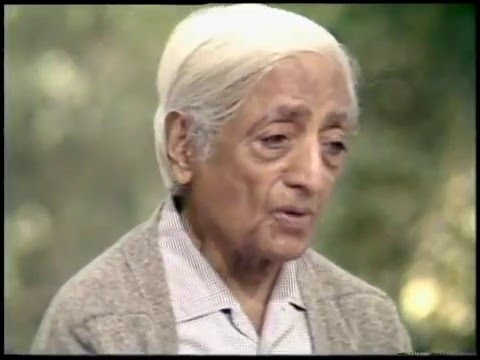 How Does One Negate The 'I' Without Suppression | J. Krishnamurti
