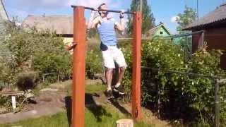 Подтягивания с отягощением 20 кг | Weightet pull ups +42 lbs