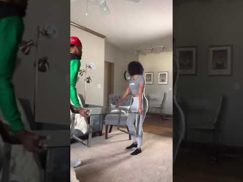 Boyfriend beats his girl brutally with a pillow