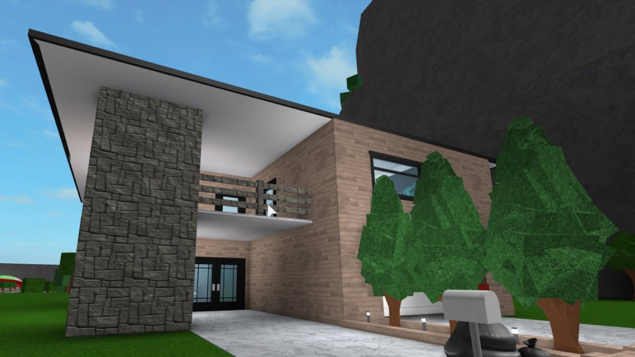 Building a 40k house 5 roblox bloxburg youtube for Cheapest 2 story house to build