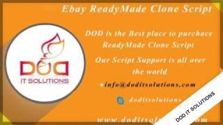 EBAY CLONE   Ebay ReadyMade Clone Script   DOD