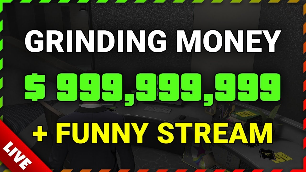GTA Online GRINDING MONEY $999,999,999 + FUNNY STREAM (Double Money Hangar Crates + Casino Heist)