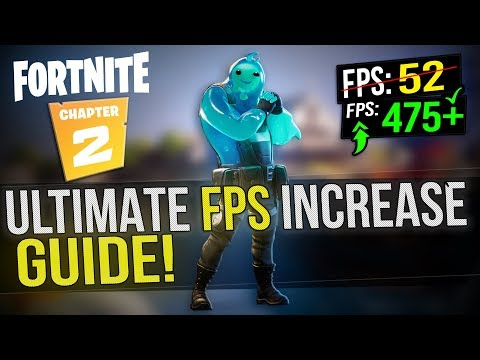 🔧 FORTNITE Chapter 2: Dramatically Increase FPS / Performance With Any Setup! In FORTNITE 2