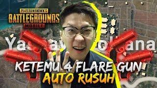 Gambar cover KETEMU 4 FLARE GUN AUTO RUSUH! - PUBG Mobile Indonesia