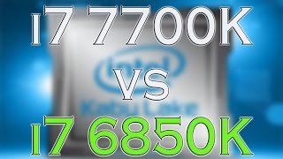7700k vs 6850k i7 7700k benchmark test kaby lake vs broadwell e review and comparison