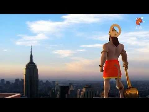"""Hanuman"" ""hanuman chalisa"" ""AROUND THE WORLD WITH HANUMAN""""VEER HANUMAN"" Animation, cartoon video"